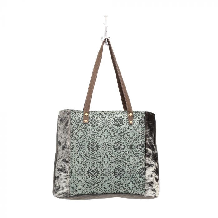 Jodie - Floral Chic Canvas Myra Tote Bag