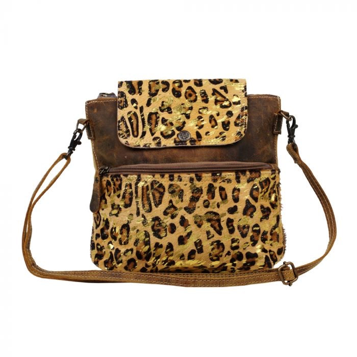 Chloe - Canvas Leopard Myra Bag