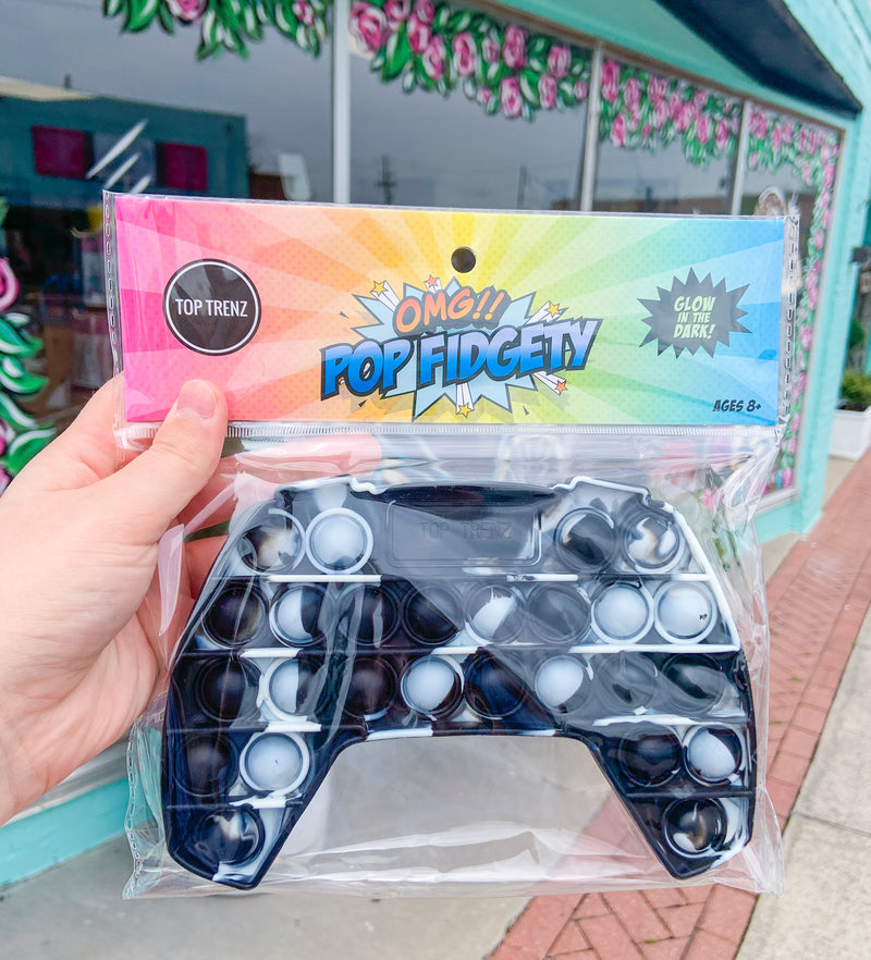 Pop Fidgety Game Controller Popper Toy
