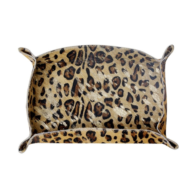 Leopard Multi Purpose Rectangle Tray