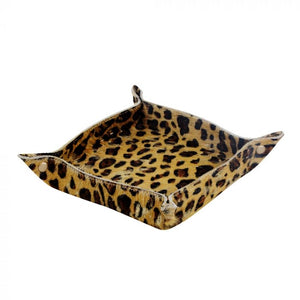 Leopard Multi Purpose Square Tray