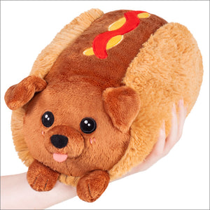 Mini Squishable - Dachshund Hot Dog