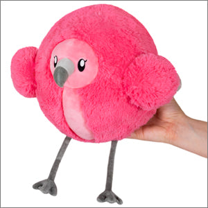 Mini Squishable - Fluffy Flamingo