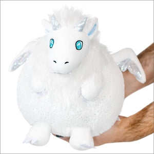 Mini Squishable - Snow Dragon