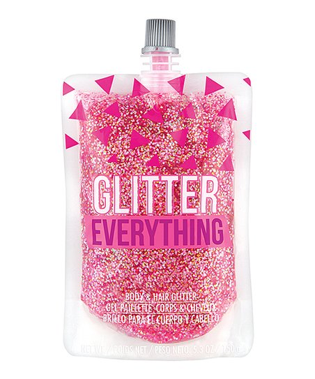 Beauty Trends - Glitter and Chill Pink Glitter Gel