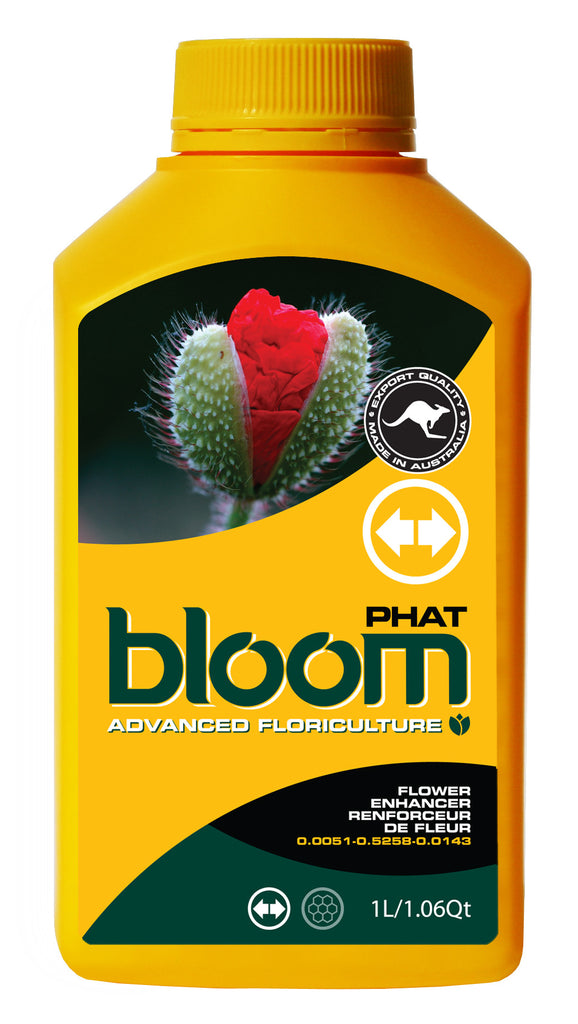 Advanced Floriculture Bloom PHAT 2.5 Liter Advanced Floriculture Yellow Bottle