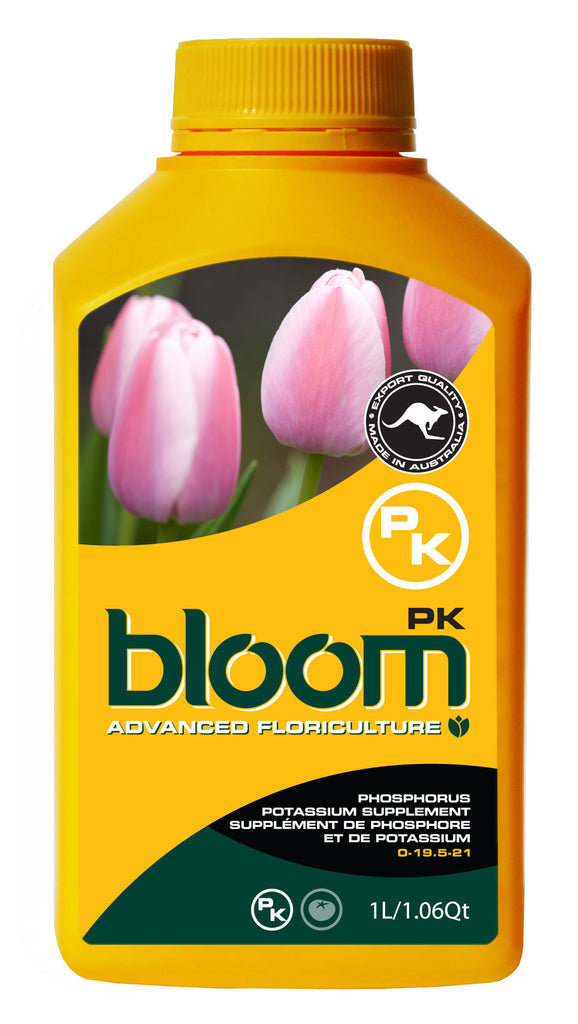 Advanced Floriculture Bloom PK 1 Liter Advanced Floriculture Yellow Bottle