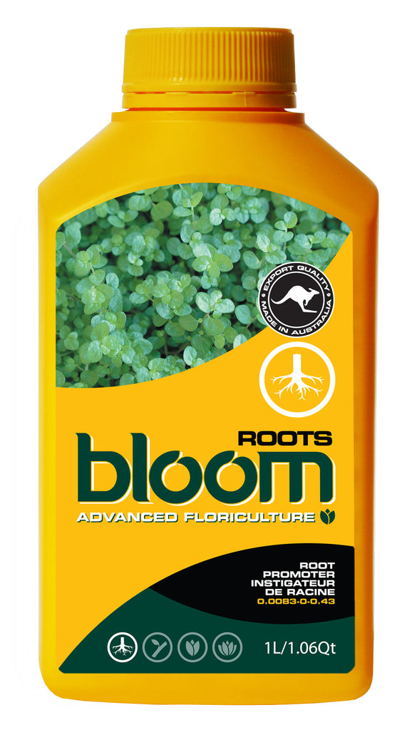Yellow Bottle Bloom ROOTS 2.5 Liter by Advanced Floriculture