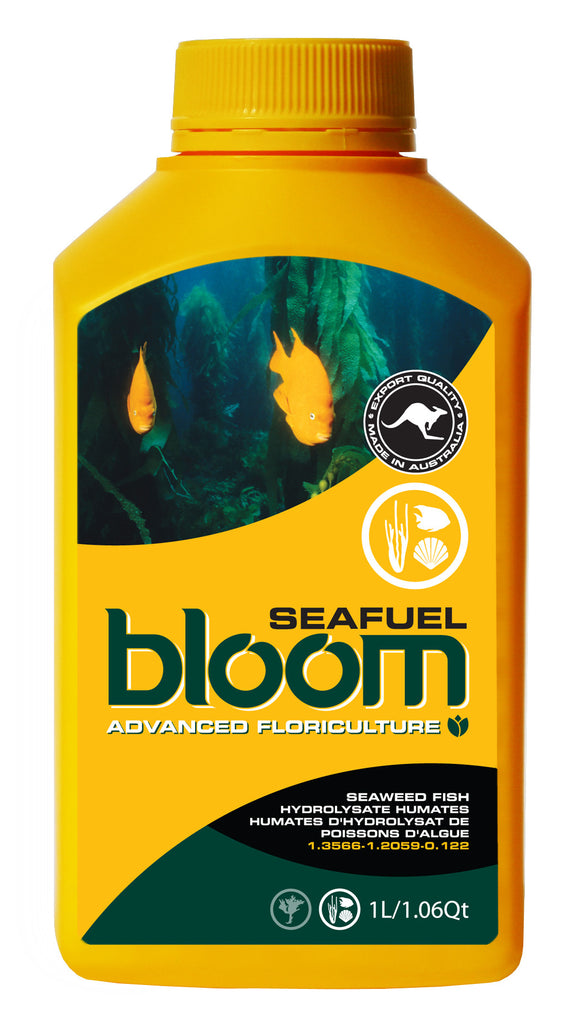 Advanced Floriculture Bloom SEAFUEL 1 Liter Advanced Floriculture Yellow Bottle