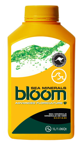 Bloom Sea Minerals - BloomYellowBottles