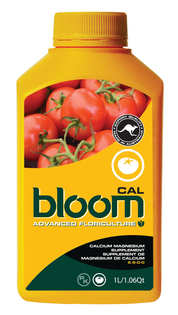 Advanced Floriculture Bloom CAL-MAG 1 Liter Advanced Floriculture Yellow Bottle