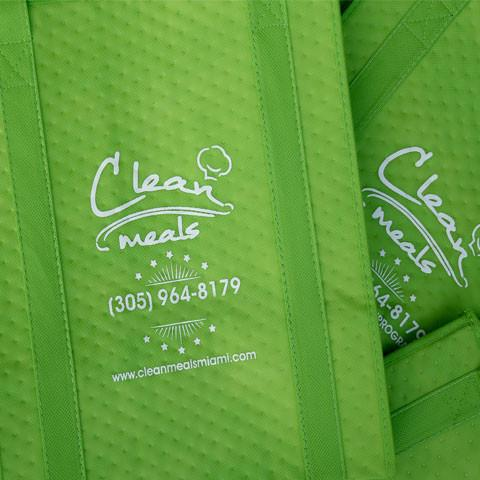 Thermal Bag with Ice Pack Clean Meals Miami