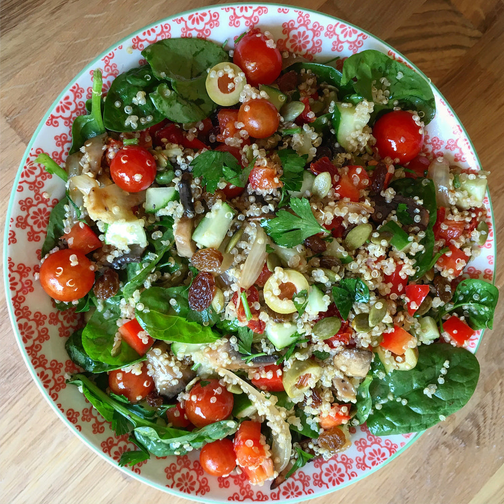 Recipe: Quinoa & Vegetable Salad