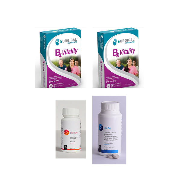 3 Months Bariatric Multivitamin Pack + 1 Bottle Calcium Citrate + D