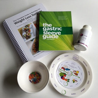 Portion Plate & Bowl Sleevers Multivitamin & 2 Book Pack