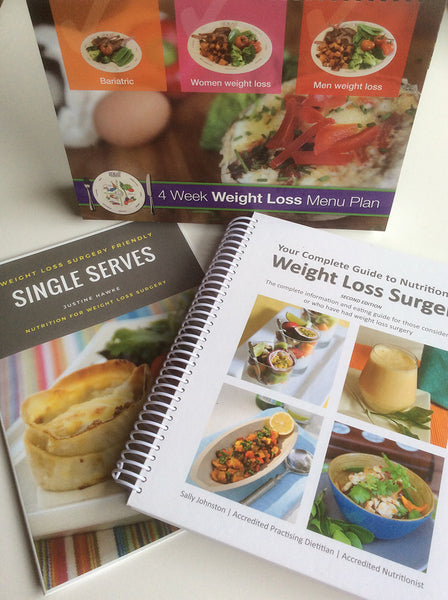 Bariatric Meal Plan & Recipe Book Pack