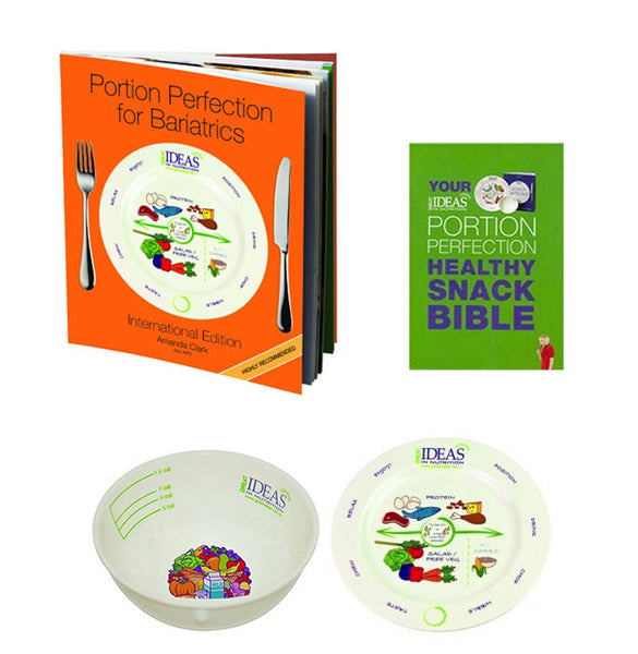 Bariatric Porcelain Book & Portion Pack 1