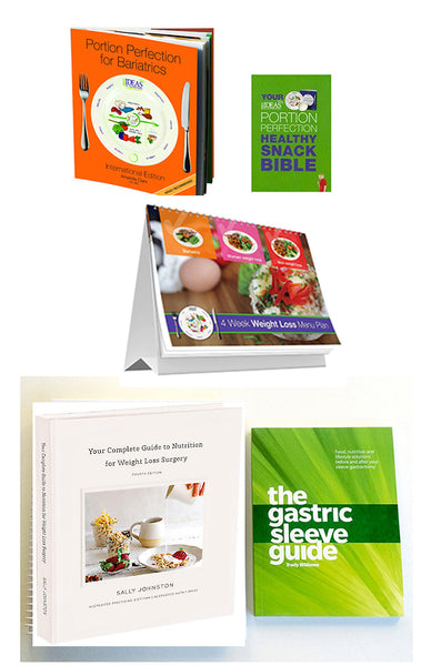 Gastric Sleeve 5 Book Recipe & Meal Plan Pack 2