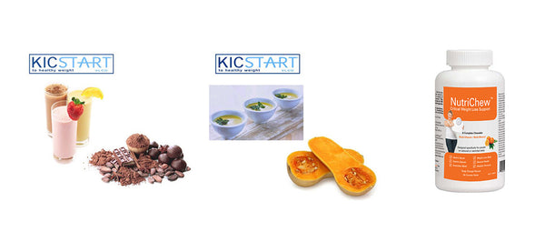 KicStart 24 Assorted Meal Replacements & 1 Multivitamin Starter Kit