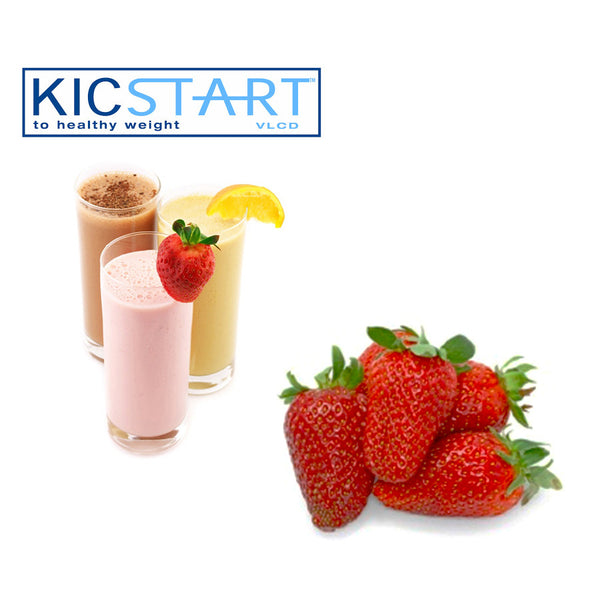 KicStart Strawberry Sundae Flavoured Shake