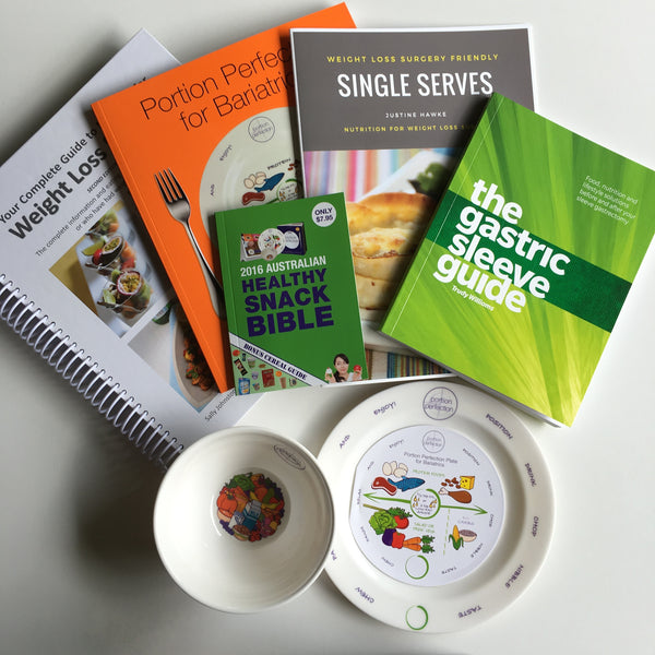 Portion Plate & Bowl Sleevers 5 Book Pack