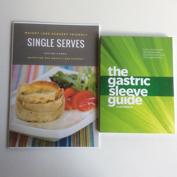 The Gastric Sleeve Guide + Weight Loss Surgery Recipe Book