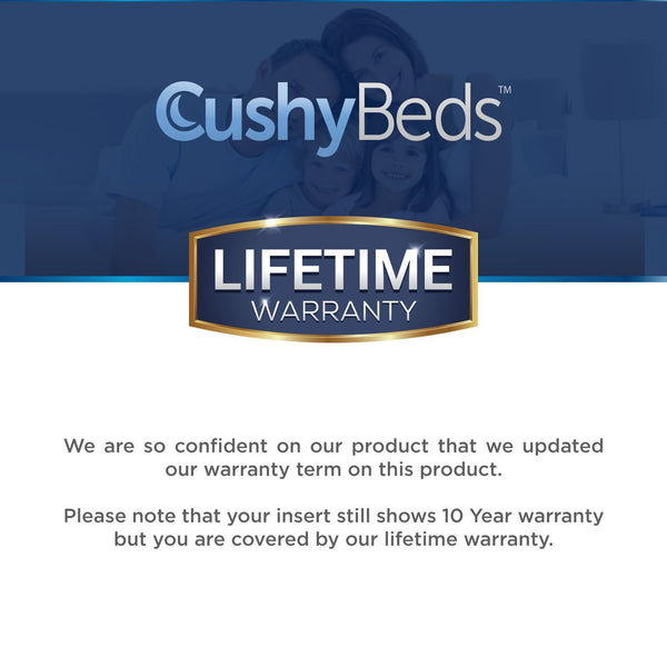 Premium Mattress Protector Cover by CushyBeds - Lab Tested 100% Waterproof, Hypoallergenic, Breathable Cool Flow, Noiseless, No Crinkling, Allergy & Vinyl Free