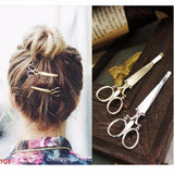 SCISSORS HAIRPIN JEWELRY HAIR CLIP
