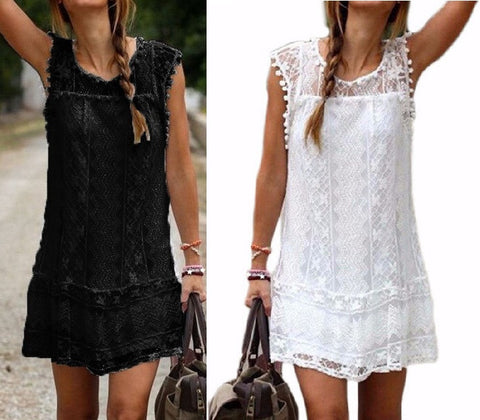 BEACH COVERUP SHORT DRESSES