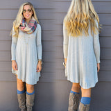 FALL LONG SLEEVE DRESS