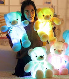 LIGHT UP GLOW TEDDY BEAR