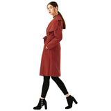 FALL WOOL TRENCH COAT