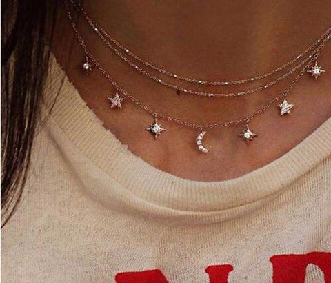 FREE MOON NECKLACE