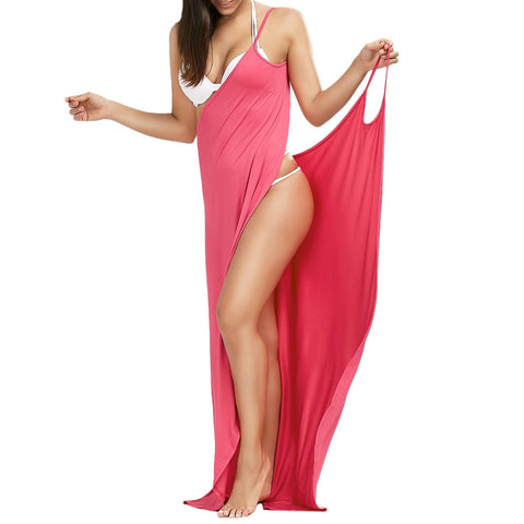 BEACH COVER UP LONG DRESSES