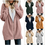 TEDDY BEAR FLEECE COAT JACKET