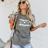 BLESSED MAMA LOOSE FITTING PULLOVER SWEATSHIRT