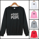DOG MOM HASHTAG PULLOVER SWEATSHIRT
