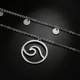 OCEAN WAVE FLOW NECKLACE