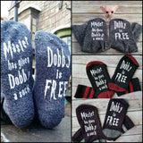 HARRY POTTER DOBBY FUN CREW SOCKS