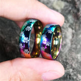 RAINBOW PAW PET LOVE RING STAINLESS STEEL