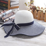 SUN HAT LARGE STRAW