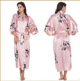SILK ROBE FOR BATH NIGHTGOWN PAJAMA