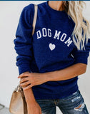 DOG MOM PULLOVER SWEATSHIRT