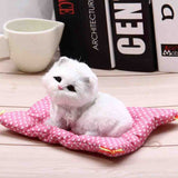 PURRING KITTEN PLUSH TOY