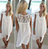 DESIGNER LACE SUMMER DRESS