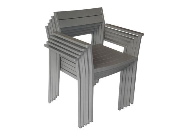 Eos outdoor chairs with arms