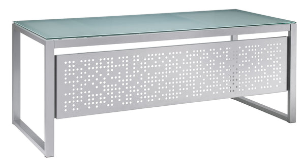 Perforated modesty panel
