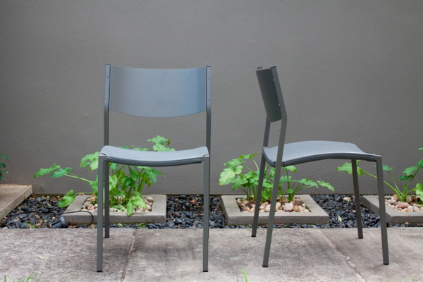 Mesh Outdoor Chair by Aero
