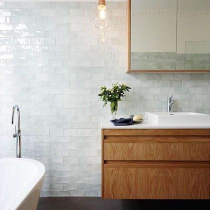 Ripple Subway Tiles For Bathroom Amp Kitchen Feature Walls