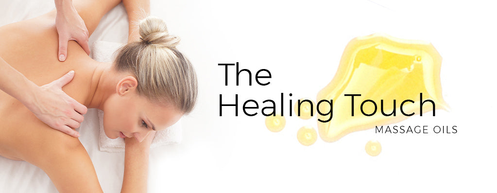 The Healing Touch - Spa Massage Oils